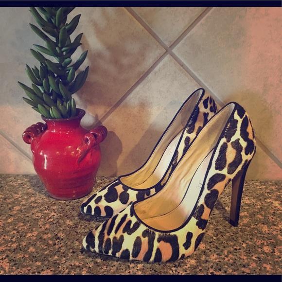 d64f711de9f2 Aldo Shoes - ALDO Animal Print Faux Fur High Heels